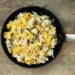 Quick and Easy Pappardelle with Cauliflower and Gorgonzola